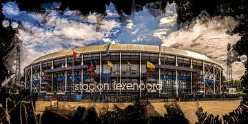 "Feyenoord ART Stade Rotterdam ""De Kuip"" Avant sur MS Fotografie | Marc van der Stelt"