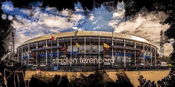 """Feyenoord ART Rotterdam Stadion """"De Kuip"""" Voorkant van MS Fotografie"""