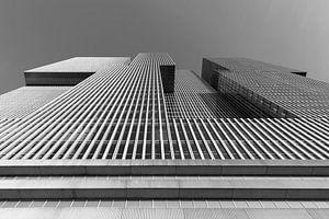 Het gebouw De Rotterdam op de Wilhelminapier in Rotterdam