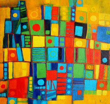 Farbspiel Nr.2 von Claudia Neubauer