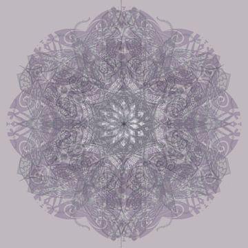 Kaleidoscoop, paars van Rietje Bulthuis