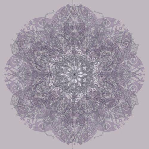 Kaleidoscoop, paars