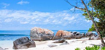Seychelles Beach Rocks van Alex Hiemstra