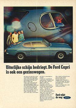 FORD CAPRI reclame van Jaap Ros
