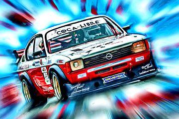Classic Racers – Kadett GT/E van Jean-Louis Glineur alias DeVerviers