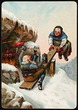 Humoristisk julemotiv (1), Wilhelm Larsen van De Canon