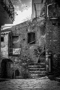 Taormina (Siciliaans: Taurmina)  Sicilië Italië. van