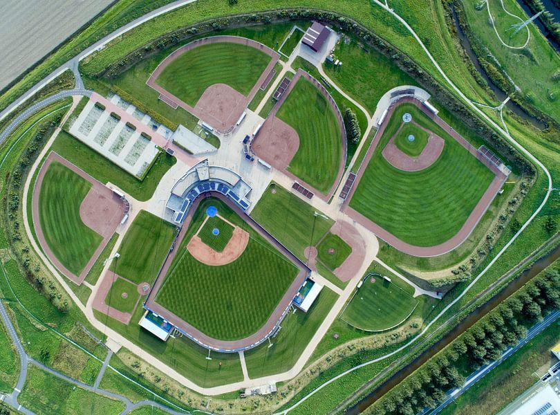 Het Sportpark van de Hoofddorp Pioniers van Michel Sjollema
