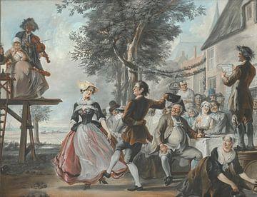 Die Hochzeit von Kloris und Roosje, Cornelis Troost
