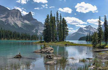 Spirit Island - Maligne Lake sur