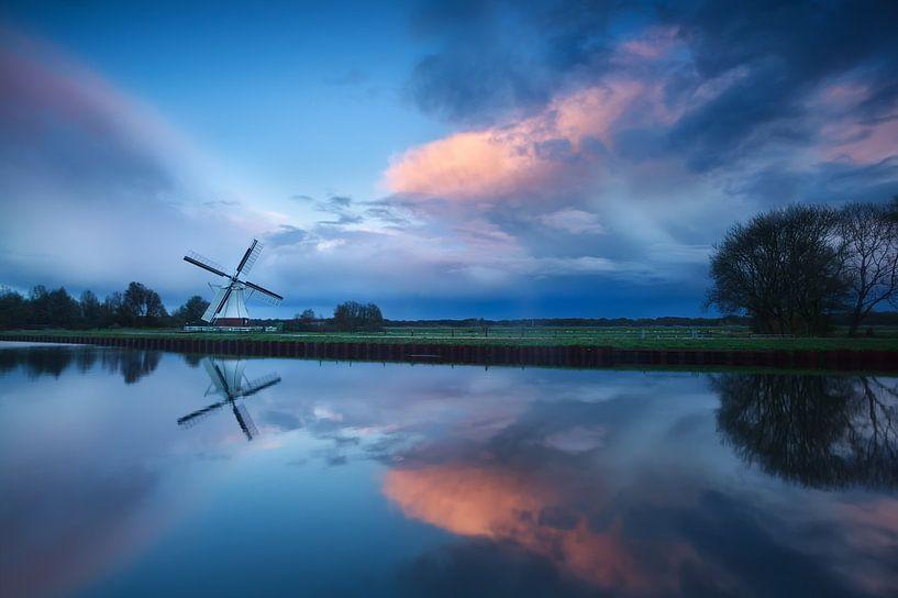Dutch dramatic sunset van Olha Rohulya