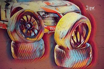 Racing Tyres van JiPé digital artwork