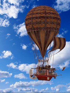 Steam Balloon hms 01 van H.m. Soetens