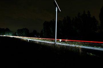 Een prachtige lichtstraal. van Jeroen Beemsterboer