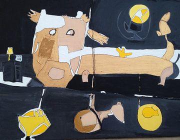 Gouden hond van Petra de Kroon