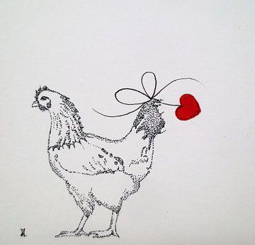 HeartFlow Kip von Helma van der Zwan