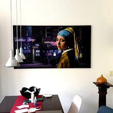 Klantfoto: A Girl's Night Out van Marja van den Hurk, op canvas