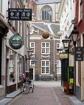 Binnenstad van Leiden, Zuid-Holland van Jeannette Kliebisch