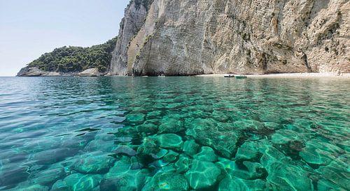 Blauwe grotten Zakynthos van