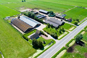 Streefkerk Middenpolderweg sur Richard van Hoek