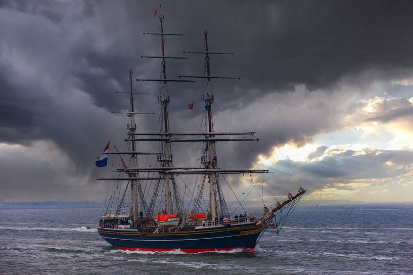 Koninklijk Jacht de Amsterdam van Brian Morgan