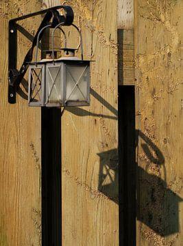 Lichtbron met schaduw van Rinke Velds