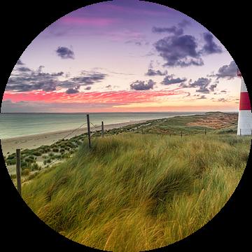Lighthouse Lijst West (elleboog / Sylt) van Dirk Wiemer