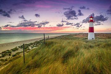 Leuchtturm List Ost (Ellenbogen / Sylt) von Dirk Wiemer