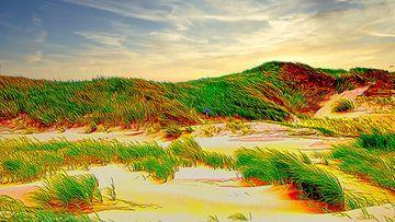 Duinen Nederland van Digital Art Nederland