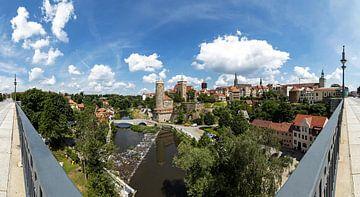 Bautzen - panorama de la vieille ville historique
