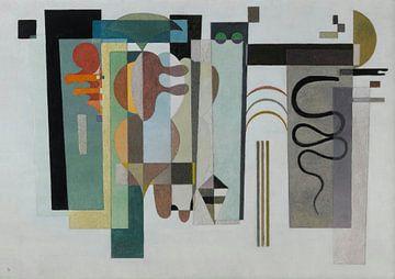 Twee groene punten, Wassily Kandinsky