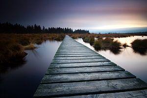 Zonsondergang Ardennen van Gerhard Niezen Photography