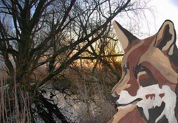 Fuchs in den Oostvaaarders von De Verbeelding