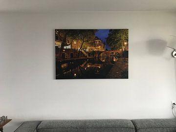 Klantfoto: Oudegracht in Utrecht met Gaardbrug