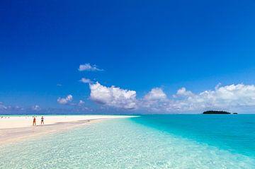 Relaxen op Aitutaki van Paul de Roos