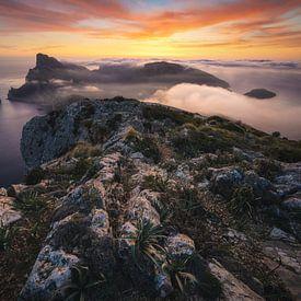 Mallorca Cap de Formentor Sonnenaufgang von Jean Claude Castor
