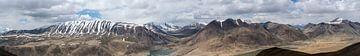 Panorama-Khargusch-Pas Tadschikistan von Daan Kloeg