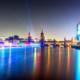 Oberbaumbrücke Berlin von Frank Herrmann