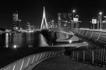 Erasmusbrug Rotterdam  von Dion van den Boom