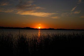Geweldige zonsondergang van Eva Aker