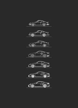 Porsche 911 Turbo-Entwicklung von Artlines Design