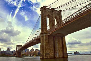 Brooklyn bridge van Bert Broer