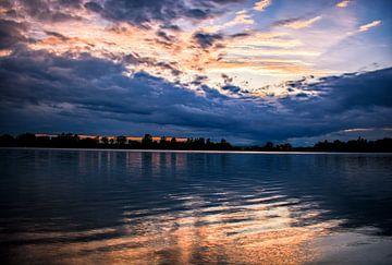 Sonnenuntergang am See von Michael Nägele