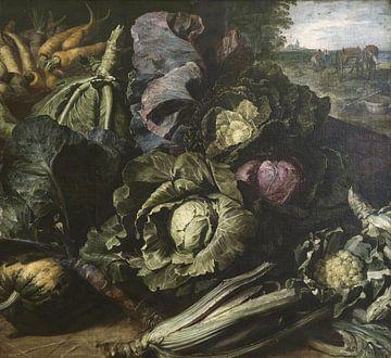 Nature morte avec cultures (Allégorie de la Terre), Frans Snijders