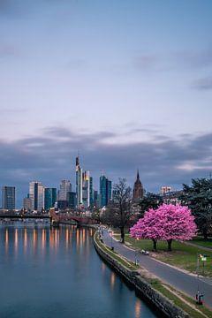 Frankfurt am Main mit Mandelbaum von Fotos by Jan Wehnert