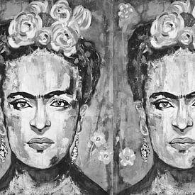 Triple Frida sur Kathleen Artist Fine Art