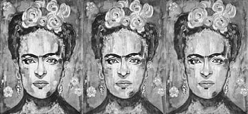 Dreifache Frida Kahlo von Kathleen Artist Fine Art