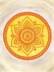 Svadhisthana Sacraal Chakra Mandala