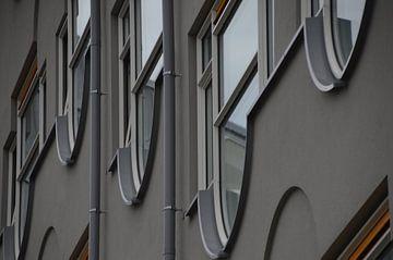 Façade Rotterdam sur Marieke van der Hoek-Vijfvinkel
