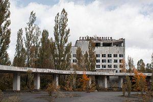 Het centrale plein van Pripyat